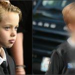 Foto: Shiloh Jolie Pitt, tunsă şi îmbrăcată ca un băieţel, pe stradă!