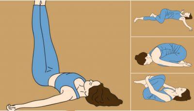 Scapă de durerile de spate cu aceste zece exerciţii de extindere