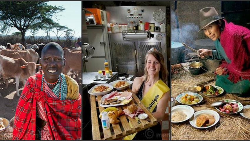 Foto: Foto! Câte calorii consumă în fiecare zi oamenii din diferite regiuni ale globului?