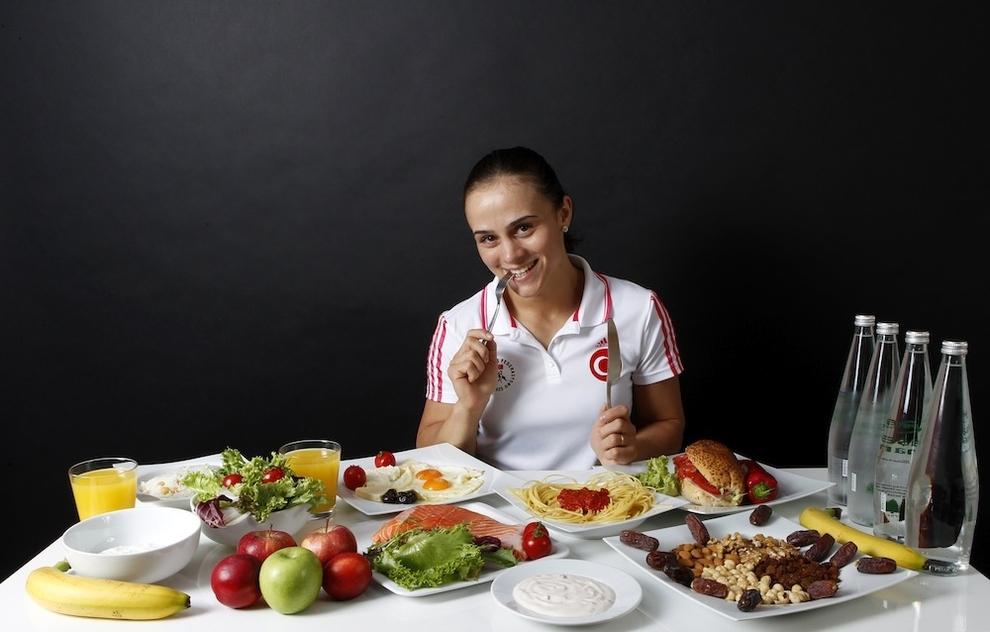 Elif Jale Yesilirmak, Wrestling, 3,000 de calorii pe zi