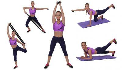 5 exerciții care te scapă de kilogramele acumulate în vacanță!