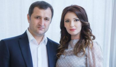Angela Gonța și Vlad Filat sunt divorțați oficial!