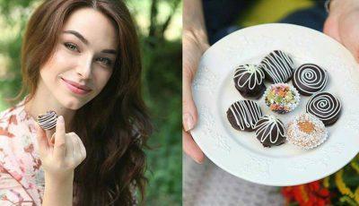 Miss Moldova face bomboane care nu îngrașă