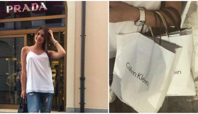Diana Brescan face shopping în Italia. Vezi ce și-a achiziționat