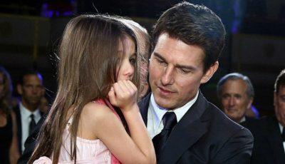 Tom Cruise a uitat de fiica sa!