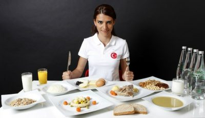Cum arată meniul Campionilor Olimpici!