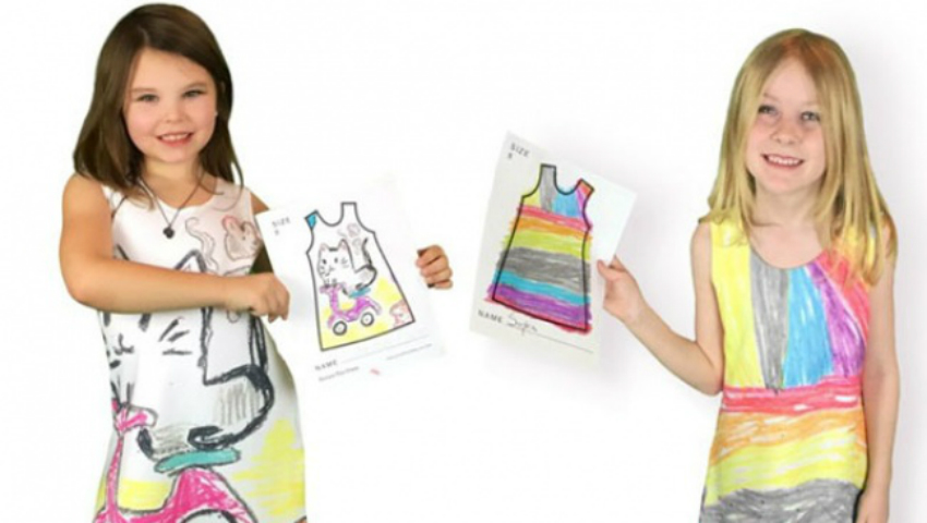 Foto: S-a făcut designer datorită fiicelor ei. Jaimee Newberry face rochii după schițele celor mici