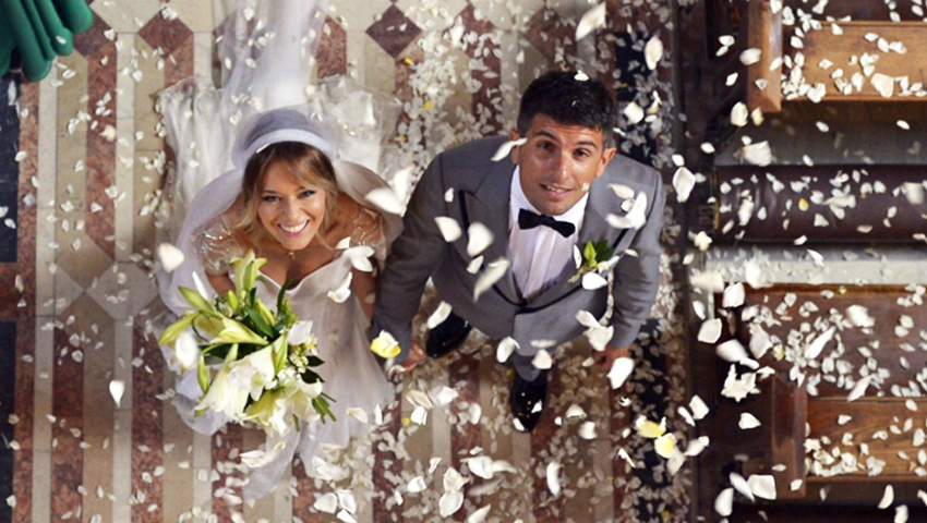 Foto: Laura Cosoi a postat un video emoționant de la nunta sa!