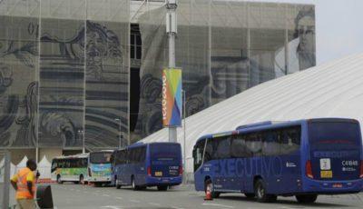 Autobuzul ce transporta jurnaliști la Jocurile Olimpice de la Rio a fost atacat cu gloanțe!