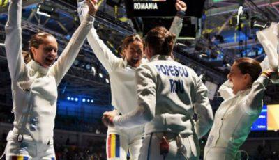 România este campioană olimpică la spadă feminin!