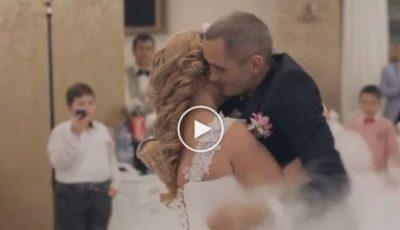 Cea mai emoționantă nuntă din România. Ce au făcut cei doi miri
