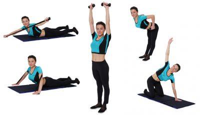 6 exerciții pentru prevenirea scoliozei!