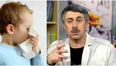 Cum întăreşti imunitatea copilului? Dr. Komarovsky oferă sfaturi utile
