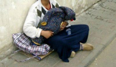 Cutremurător! Cum se face că micuţii din braţele cerşetoarelor pot dormi întruna?