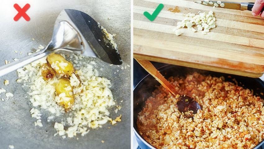 Foto: Greşeli culinare care îţi strică gustul bucatelor!