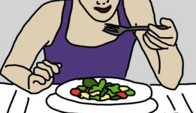 5 motive sănătoase pentru a mânca mai lent!