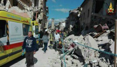 Cutremurul din Italia: 247 de morți, potrivit unui nou bilanţ!