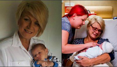 O femeie de 46 de ani și-a născut propriul nepot, pentru că fiica ei nu putea naște!