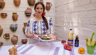Pește la cuptor, rețeta delicioasă a Olesei Talpă