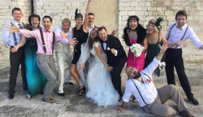 Poze de la nunta lui Andrei Gaidulean în Italia!