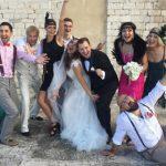 Foto: Poze de la nunta lui Andrei Gaidulean în Italia!