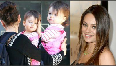 """Mila Kunis, despre maternitate: ,,Mi-a schimbat viaţa""""!"""