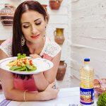 Foto: Salată de mango şi ardei copt de la Stela Popa