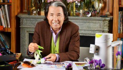 Va fi lansat un nou parfum, semnat de designerul internațional Kenzo Takada