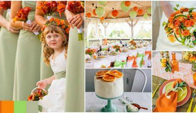 5 combinații de culori pentru nunta ta!