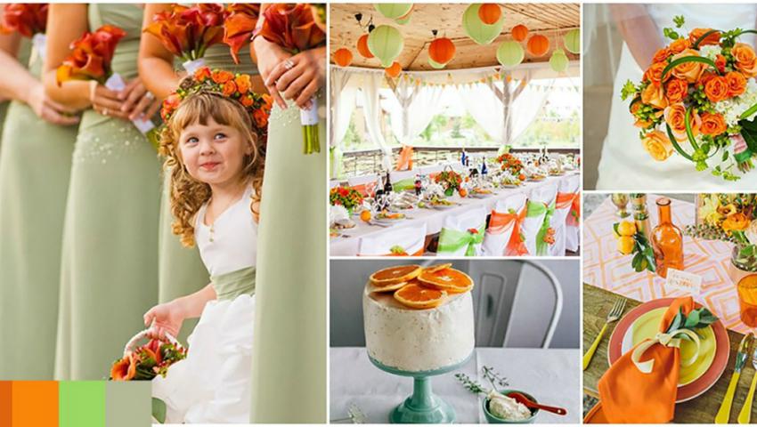 Foto: 5 combinații de culori pentru nunta ta!