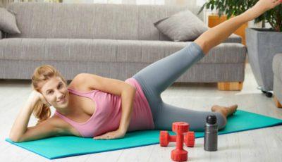 Antrenează-ți mușchii coapsei și cei abdominali