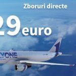 Foto: De astăzi, FLY ONE oferă bilete de avion de la 29 euro