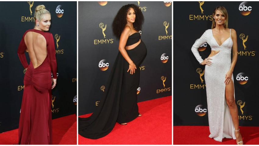 Foto: Pentru ce ținute au optat celebrităţile la Emmy Awards