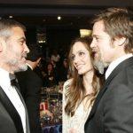 Foto: Cum comentează George Clooney divorțul dintre Angelina Jolie și Brad Pitt!