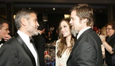 Cum comentează George Clooney divorțul dintre Angelina Jolie și Brad Pitt!
