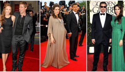 Cele mai memorabile apariții ale cuplului Jolie-Pitt pe covorul roșu!