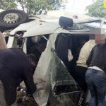 Foto: Accident grav lângă localitatea Sociteni!