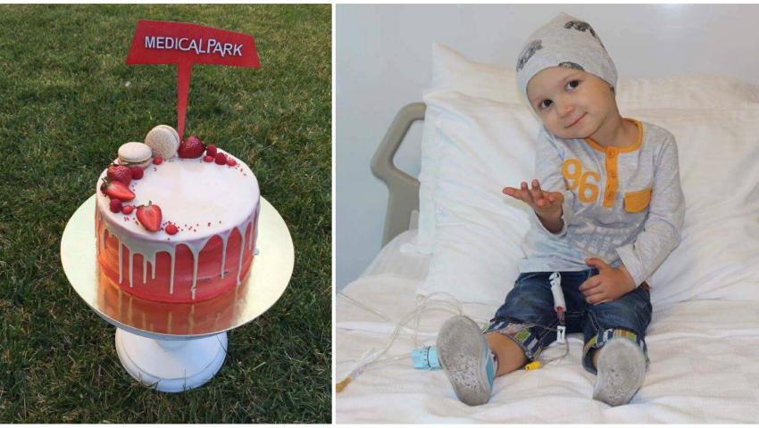 Foto: Irina Negară a scos un tort la licitație, pentru a ajuta copiii bolnavi de cancer!