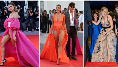 Aceste modele și actrițe au făcut senzație la Festivalul de Film de la Veneția!
