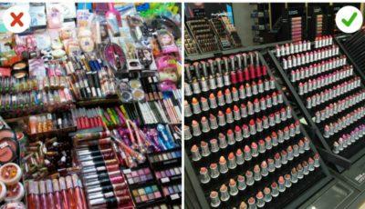 Cum să deosebești cosmeticele originale de cele fake!