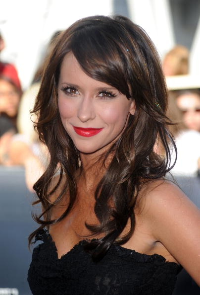 """LOS ANGELES, CA - JUNE 24:  Actress Jennifer Love Hewitt arrives to the premiere of Summit Entertainment's """"The Twilight Saga: Eclipse"""" during the 2010 Los Angeles Film Festival at Nokia Theatre L.A. Live on June 24, 2010 in Los Angeles, California.  (Photo by Frazer Harrison/Getty Images)"""