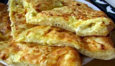 Khachapuri pentru micul-dejun! Tare bine mai arată