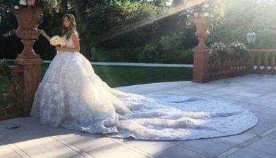 Nuntă de lux în Rusia! Mireasa a purtat o rochie care a costat peste 300 de mii de euro