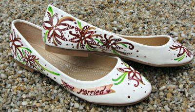 Pantofi de nuntă personalizați
