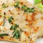 Foto: File de pește cu pesto și prosciutto