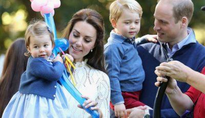 Familia regală britanică în prima lor vizită oficială în Canada! Cum s-au distrat copiii