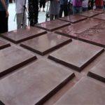 Foto: Cea mai mare ciocolată din lume a fost fabricată în Slovenia!
