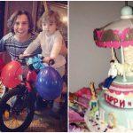 Foto: Poze! Ala Pugaciova şi Maxim Galkin au sărbătorit aniversarea gemenilor