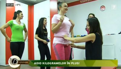 O reporteriţă de la Deşteptarea, care vrea să scape de 10 kg, i-a făcut o promisiune Galinei Tomaş