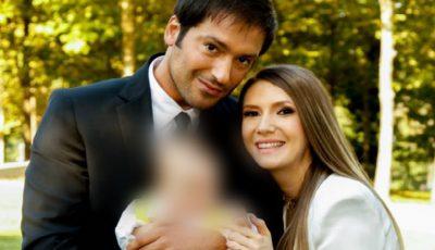 Adela Popescu şi Radu Vâlcan au arătat pentru prima dată faţa bebeluşului! Cu cine seamănă micuţul Alexandru